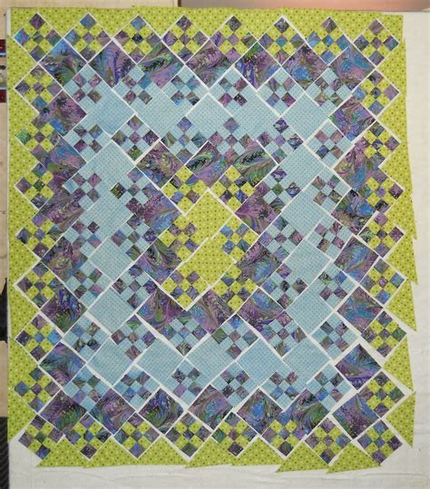 Blooming Nine Patch Quilt Pattern by Free Software Free Pattern Blooming 9 Patch