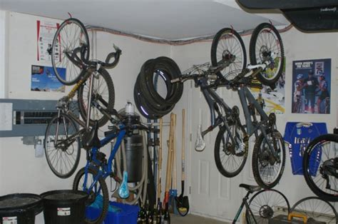 Ways To Store Bikes In Garage 26 ways to store your bike sightline institute