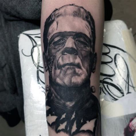tattoo fixers halloween frankenstein 80 halloween tattoo designs for men ghoulish grandeur