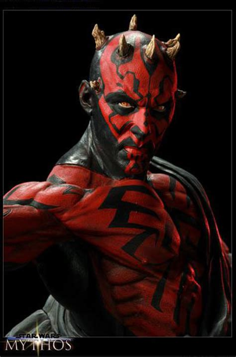 star wars darth maul mythos statue