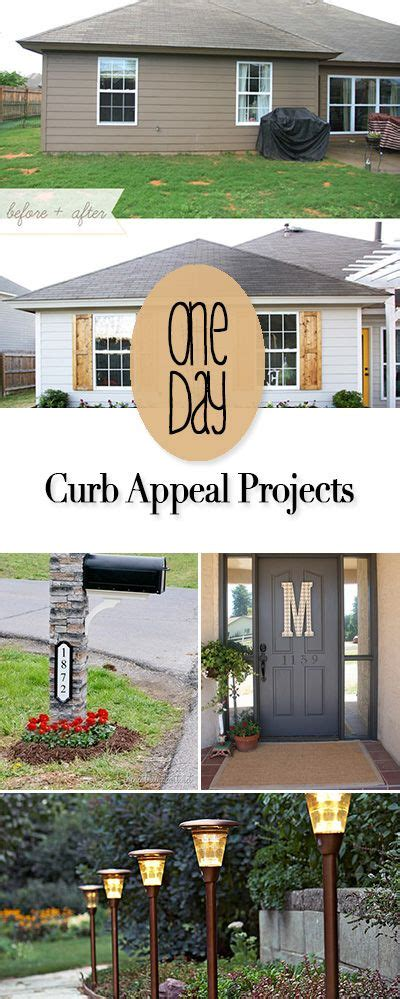 easy curb appeal projects one day curb appeal projects easy diy the o jays and home