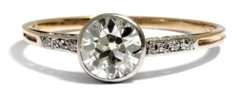 Verlobungsring Brillant by Lupenrein Einkar 228 Ter Brillant Solit 196 R Gold Ring 1 0 Ct