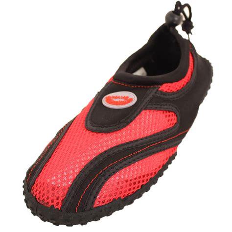 womens water shoes aqua socks slip on pool swim surf