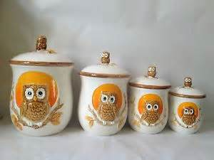 Owl Canisters For The Kitchen by 20 Best Images About Owl Kitchen On Pinterest Owl