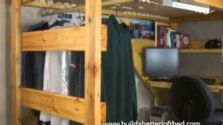 Bed Frame Stilts Size Loft Bed Woodworking Projects Plans