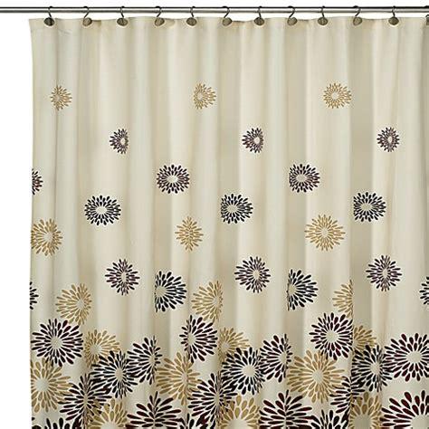 daisy shower curtain loft style 174 daisy starburst fabric shower curtain 100