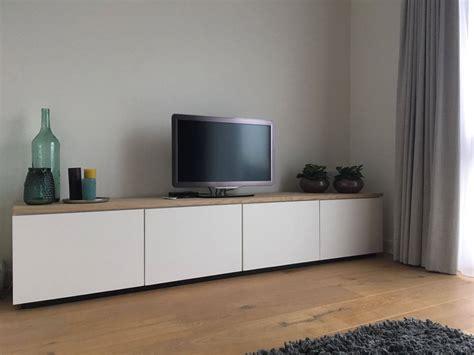 tv kastjes eiken landelijk tv meubel oud is nieuw