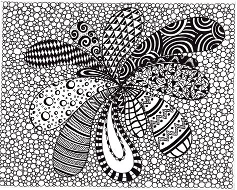 printable images black and white zentangle inspired abstract art print ink drawing zendoodle