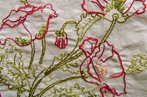 Handmade Embroidery Designs - back stitch family 187 s embroidery tutorials