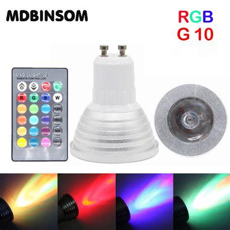 color changing christmas lights with remote 3w gu10 rgb led spotlight ac 85 265v lada 16 color