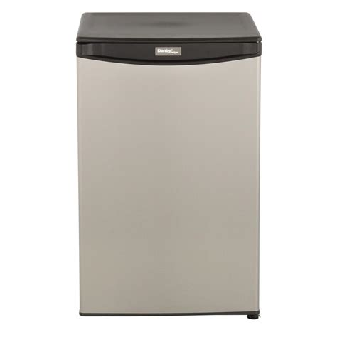danby 4 4 cu ft mini all refrigerator in stainless steel