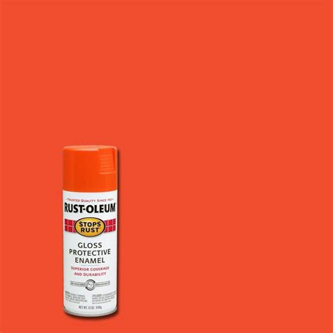 spray painter price rust oleum stops rust orange rust resistant enamel spray