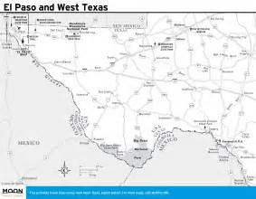 map of showing el paso printable travel maps of moon travel guides