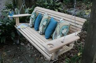 wood patio swing patio and porch swings come sit a spell