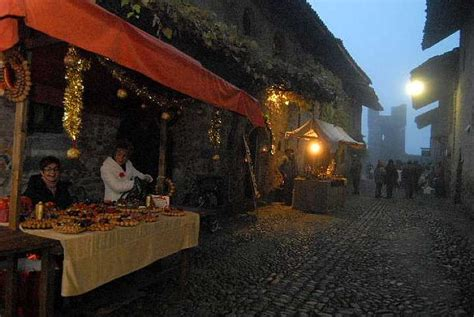 ricetto di candelo mercatini di natale i mercatini di natale al ricetto di candelo in piemonte
