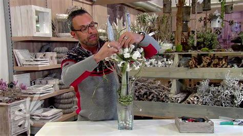 bloem pot hoog been glasvaas opmaken met romeo sommers youtube