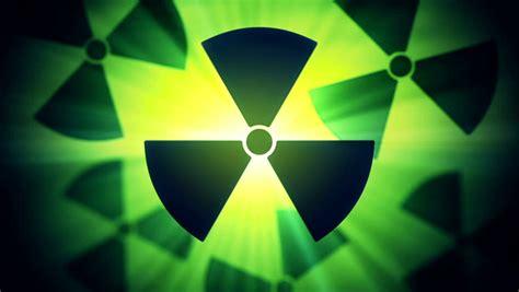 Ardium Hd Ready radiation danger sign stock footage