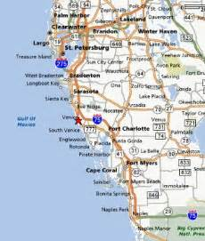 map of west coast florida the beaches in venice are beautiful venice florida and