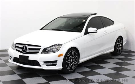 C350 Mercedes by 2013 Used Mercedes C Class Certified C350 Sport