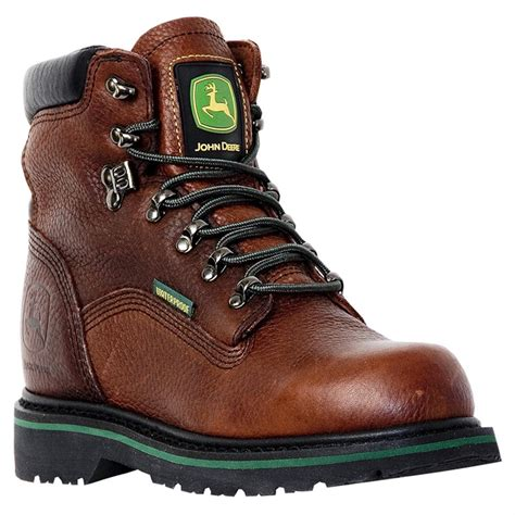 s deere boots s deere 174 6 quot waterproof lace up boots