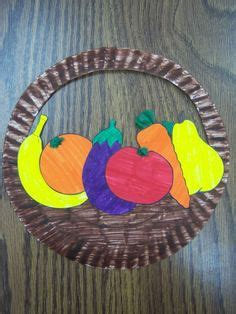 Paper Plate Crafts For Sunday School - paper plate basket on paper plates basket