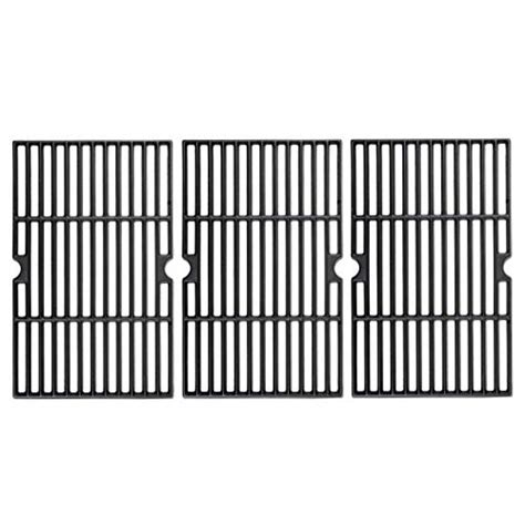 uniflasy matte cast iron grill accessories cooking grid