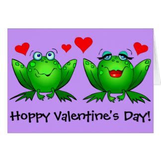 Frog Valentines Card Free Template by Frog Cards Invitations Zazzle Co Uk