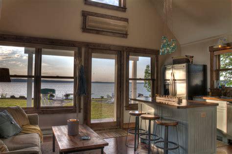 kitchen view leech lake 2 kitchen lake view