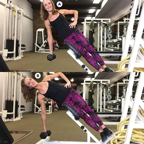 trainers share  favorite moves  amazing obliques