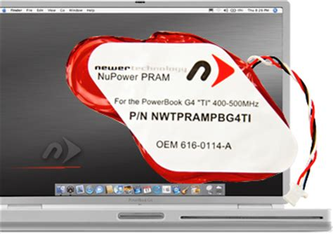 reset pram nvram powerbook g4 newertech 174 batteries pram battery for powerbook 174 g4