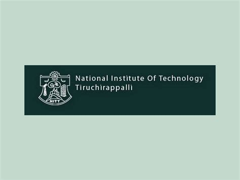 Part Time Mba In Trichy by Ukieri Nit Trichy Declare Management Capacity Development