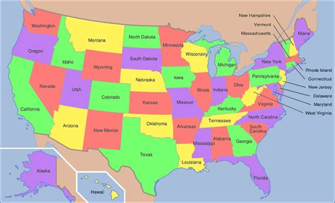 map usa showiwng states geoawesomequiz capital cities of the us states