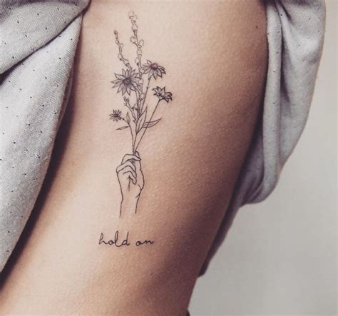 dainty flower tattoo best 25 dainty tattoos ideas on small
