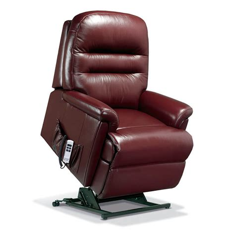Lift Recliner Chairs by Sherborne Keswick Royale Leather Lift Rise Recliner