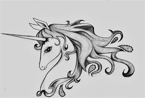 last unicorn tattoo design by iwasbornadragon on deviantart