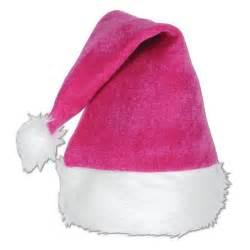pink velvet santa hat with plush trim webhats com