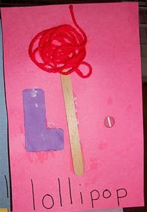 l craft for letter l crafts preschool and kindergarten