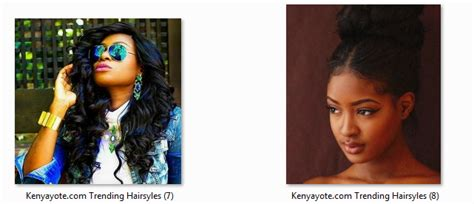 Hairstyles In Kenya by Photos Of Best And Trending Hairstyles In Kenya 2017