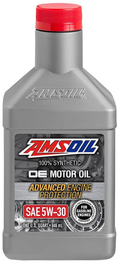 AMSOIL OE 5W 30 Synthetic Motor Oil (OEF)