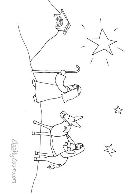 small nativity coloring page free nativity coloring pages printable coloring home