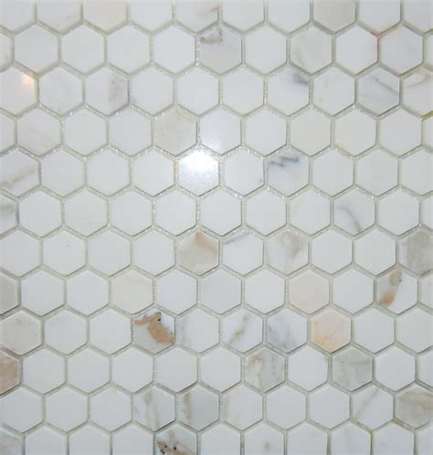 marble mosaic tile 1 inch hexagon calacatta gold oro marble mosaic tile from