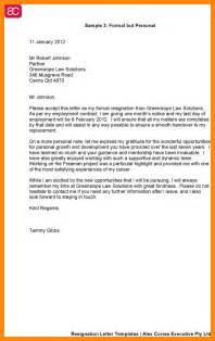 Resignation Letter Canada by 9 Sle Resignation Letter Canada Graphic Resume