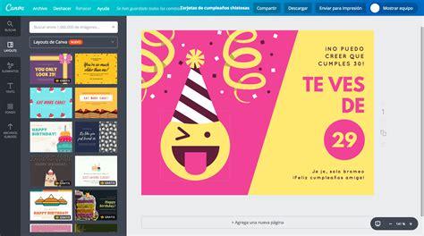 las mejores imagenes chistosas de cumplea 241 os mas crea tarjetas de cumplea 241 os chistosas online gratis canva