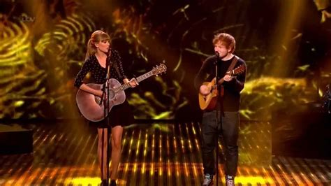 ed sheeran ft taylor swift taylor swift ft ed sheeran everything has changed