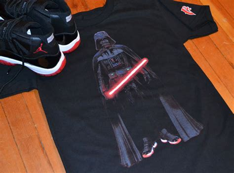 bred by a quot bred xi vader quot t shirts by vandal a sneakernews