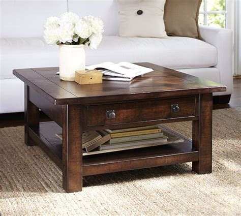 white benchwright coffee table benchwright square coffee table rustic mahogany