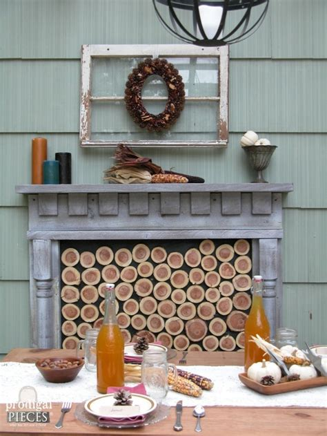 faux outdoor fireplace diy faux outdoor fireplace by prodigal pieces homeright
