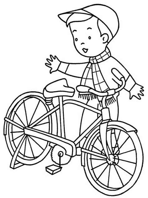 bicycle coloring pages preschool kids page bicycle coloring pages bike coloring pictures