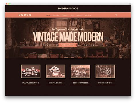 vintage home decor websites 20 best vintage retro style wordpress themes for