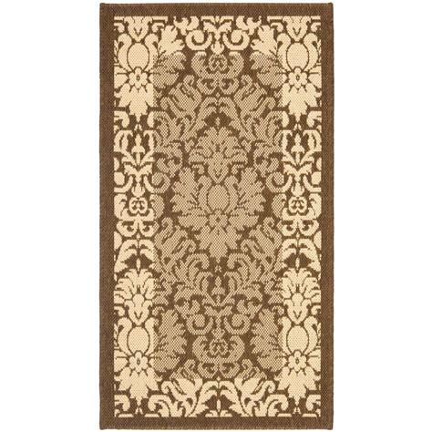 safavieh cy2727 3009 courtyard indoor outdoor area rug lowe s canada safavieh courtyard brown 2 ft x 3 ft 7 in indoor outdoor area rug cy2727 3009 2 the